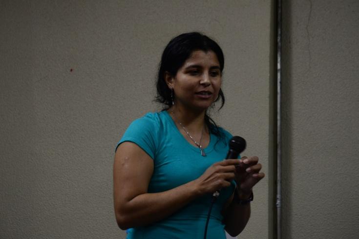 A docente Viviane Aparecida Lopes aposta nos projetos de extensão para melhorar a eficácia dos estágios de Licenciatura _ FOTO_ Vanessa Gianotti