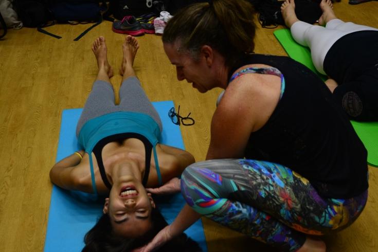Descobrir os limites e as possibilidades do próprio corpo são metas do Yoga _ FOTO_ Vanessa Gianotti