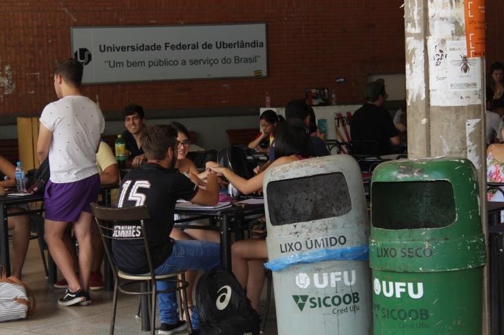 Diretor da Dirsu - Nelson Barbosa_ _Coleta seletiva é o pilar sustentável da Universidade_ - FOTO_ Cássio Lima